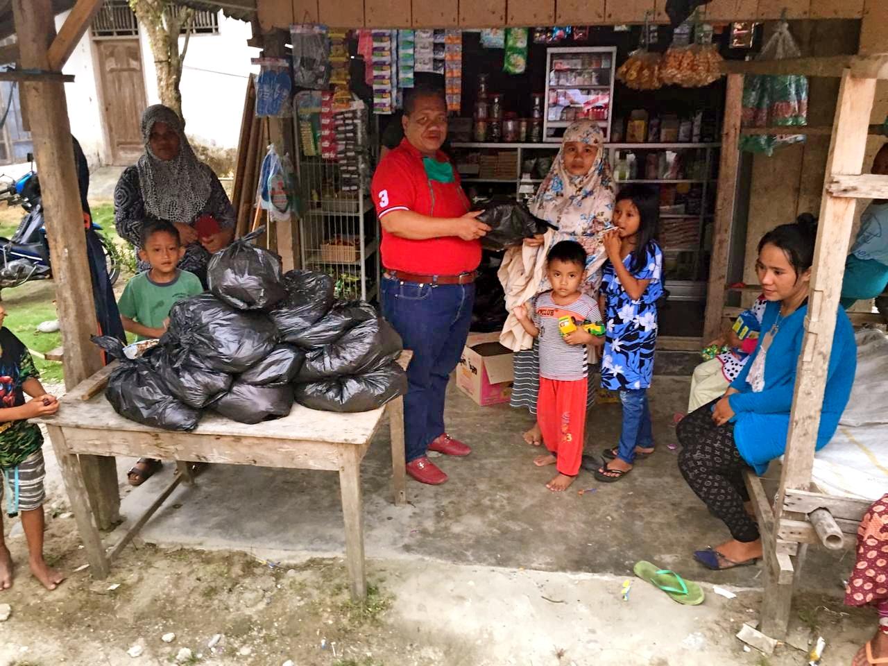 Baguna PDIP Sulteng Salurkan Bantuan Untuk Korban Banjir Masamba