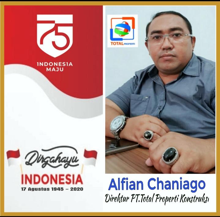 Alfian Chaniago Direktur PT.Total Properti Konstruksi