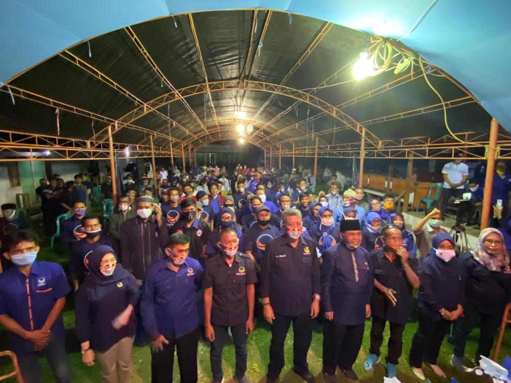 Ketua Nasdem Sulteng ,Atha Mahmud : Momen Pilkada Jadi Pondasi Masa Depan