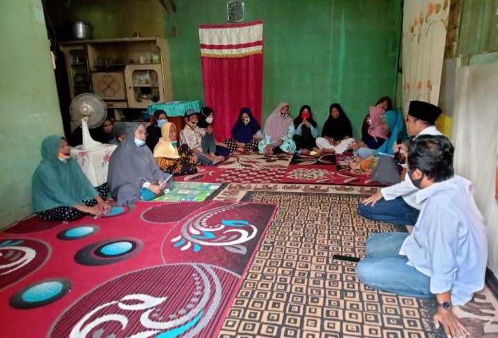 Dinilai Demokratis dan Religius ,Ibu Majelis Taklim Dukung Aristan-Wahyuddin di Pilwali Kota Palu