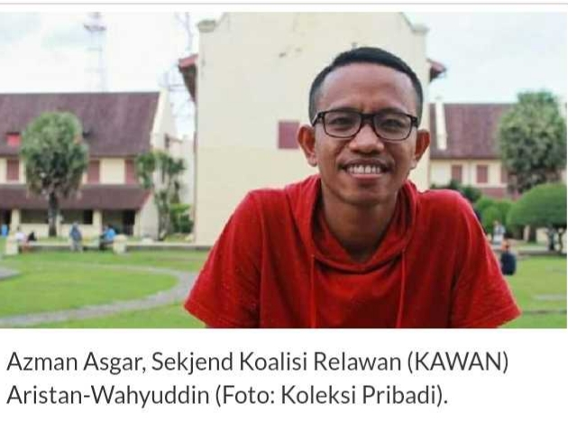 """Saat Debat ,Aristan-Wahyuddin Terlihat Miliki Gagasan """