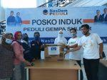 DPW Garnita Nasdem Sulteng Serahkan Bantuan Kebutuhan Bayi dan Perempuan di Posko Induk Peduli Gempa Sulbar